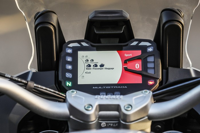 ducati skyhook menu