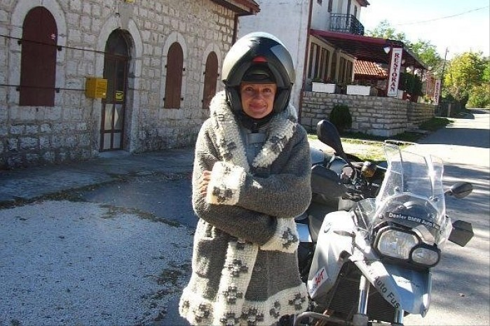 Ania Jackowska na Balkanach BMW