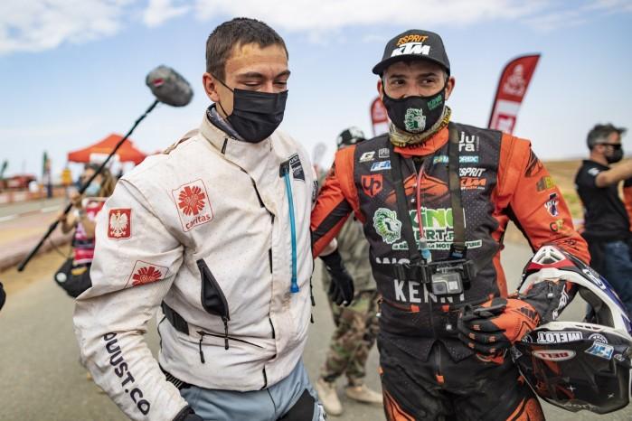 Konrad Dabrowski Dakar 2021