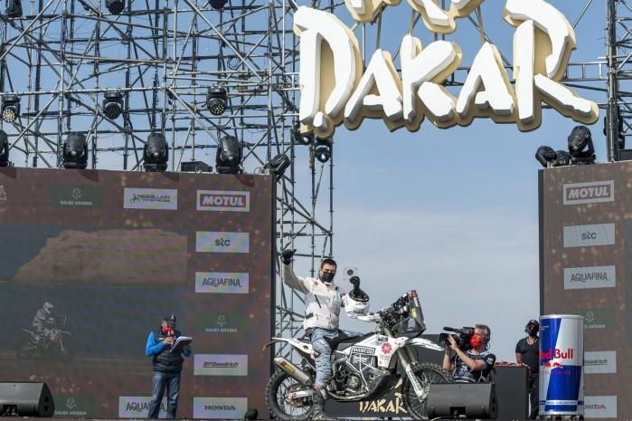 Konrad Dabrowski podium