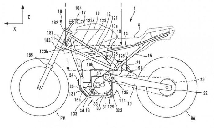 elektryczna honda patent 01