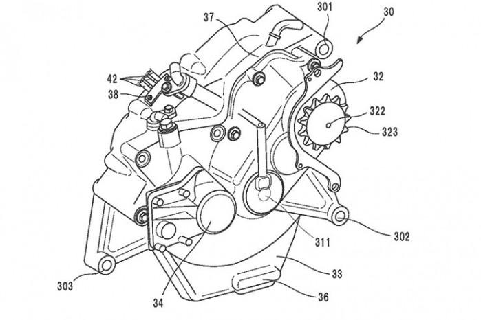elektryczna honda patent 02