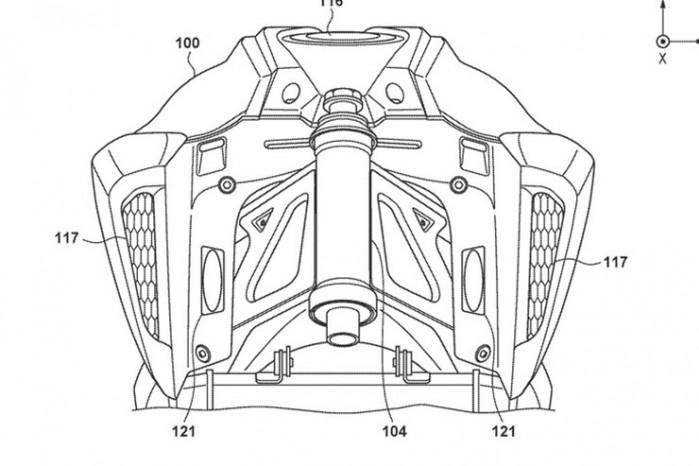 elektryczna honda patent 03