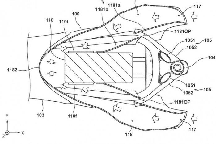 elektryczna honda patent 04