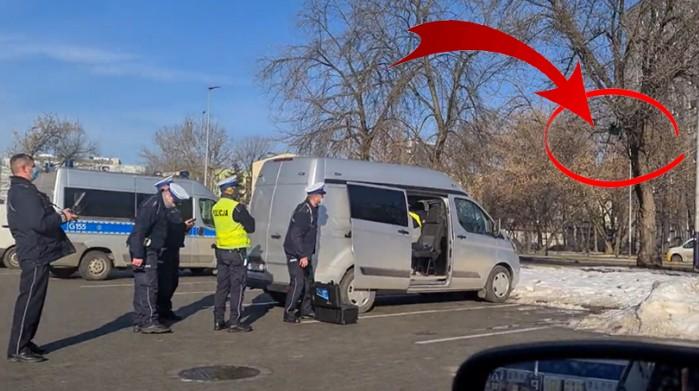 policja testuje drona