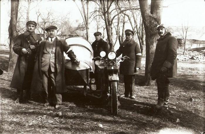wojsko polskie motocykl