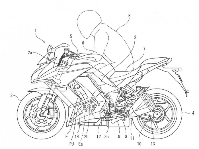 kawasaki elektroniczna zmiana biegow patent 01