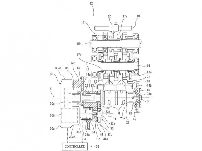 kawasaki elektroniczna zmiana biegow patent 03