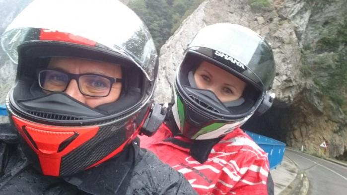 turystyka motocyklowa z plecakiem