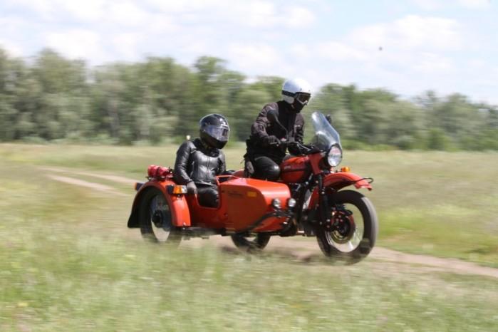 lech wangin motocykl z koszem