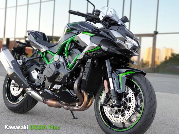 1 Kawasaki Z H2 bestia