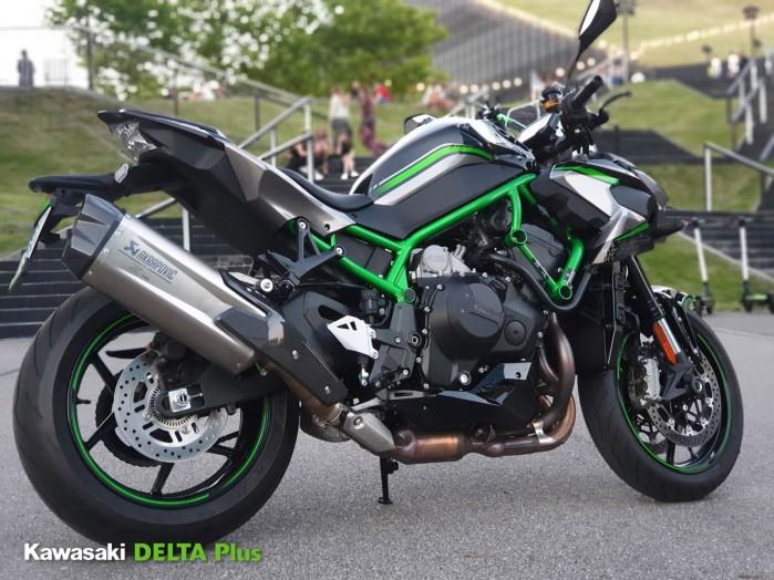 2 Kawasaki Z H2 sesja