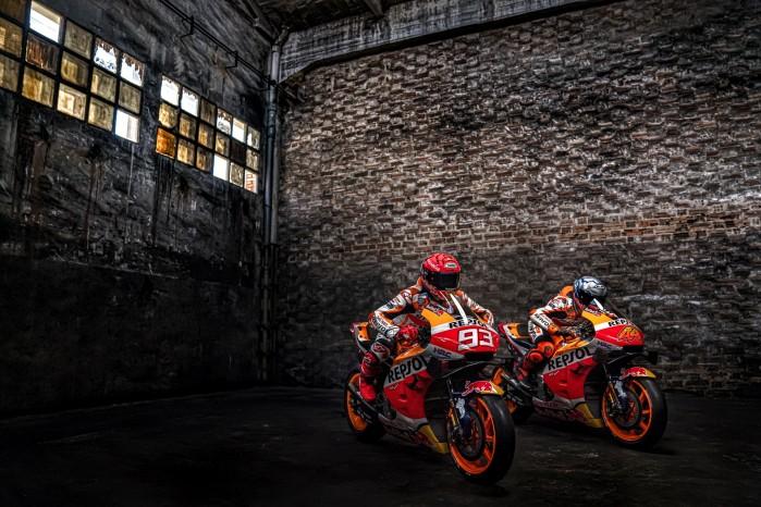 Marc Marquez Pol Espargaro motocykle MotoGP 2021