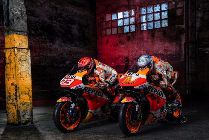 Marc Marquez Pol Espargaro w sezonie MotoGP 2021 team Honda HRC