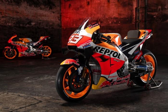 Motocykl Marc Marquez MotoGP Sezon 2021