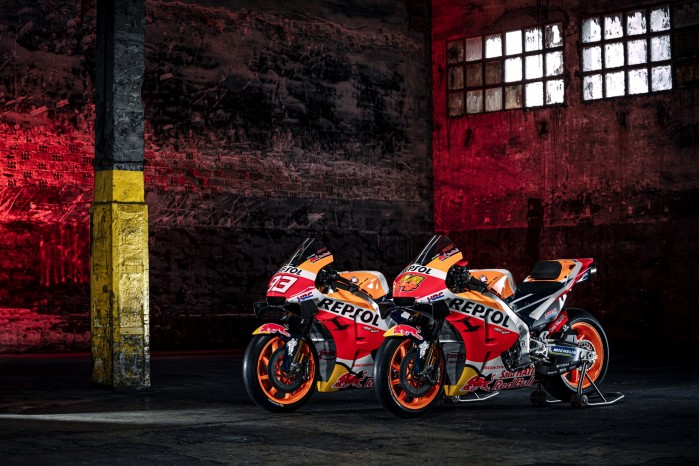 Motocykle Marc Marquez Pol Espargaro MotoGP 2021