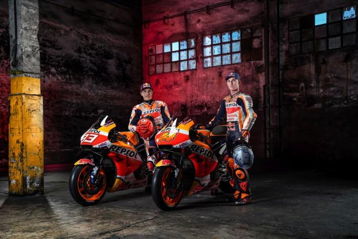Pol Espargaro i Marc Marquez w zespole Honda HRC
