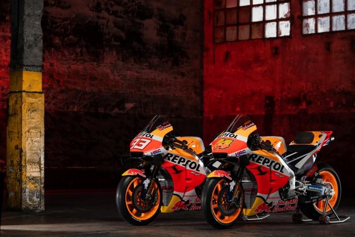 Repsol Honda Motocykle Sezon MOtoGP 2021