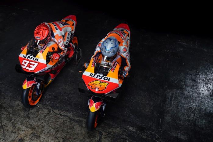 Zespol Repsol Honda Marc Marquez Pol Espargaro MotoGP 2021