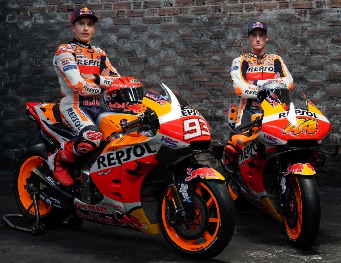 Marc Marquez Pol Esparagaro HRC Honda MotoGP 2021