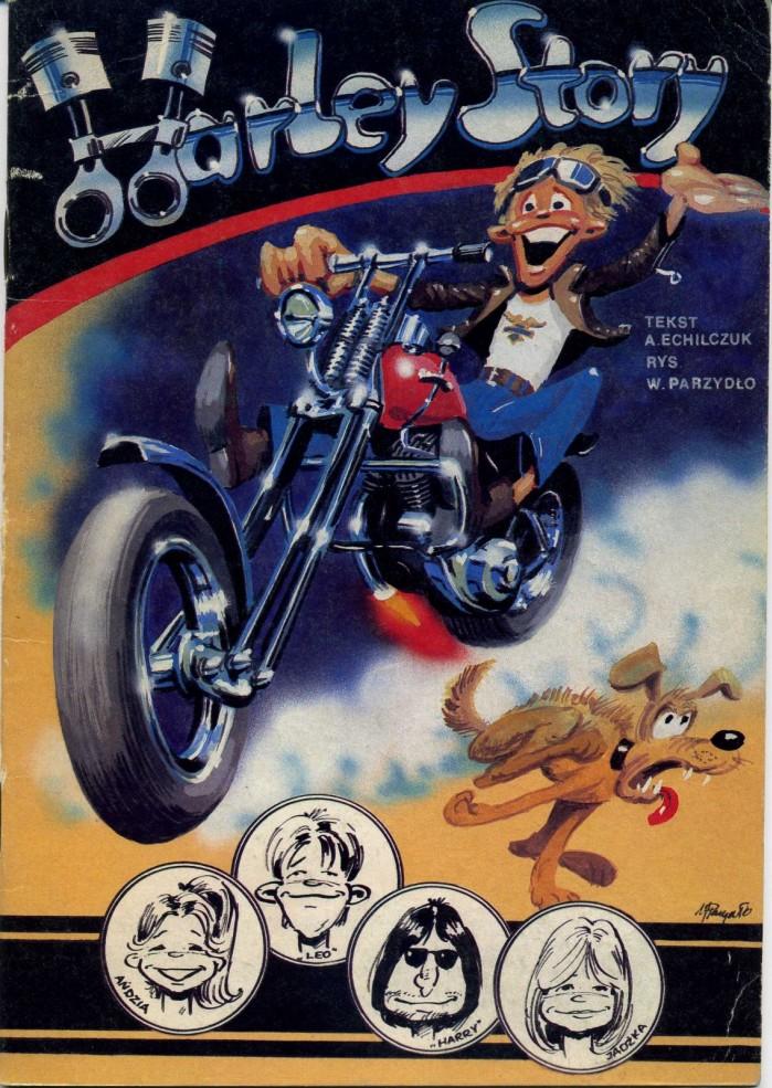 Komiks Harley Story