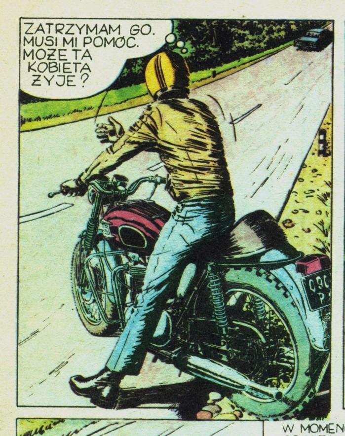 Triumph w komiksie Kapitan Zbik