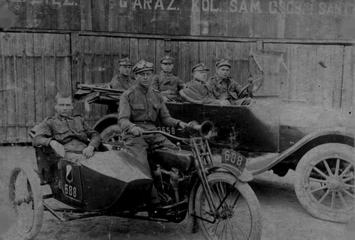 Harley Davidson w Wojsku Polskim