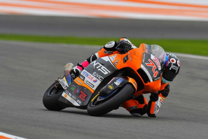 Piotr Biesiekirski na torze 2020 14 GP Valencia