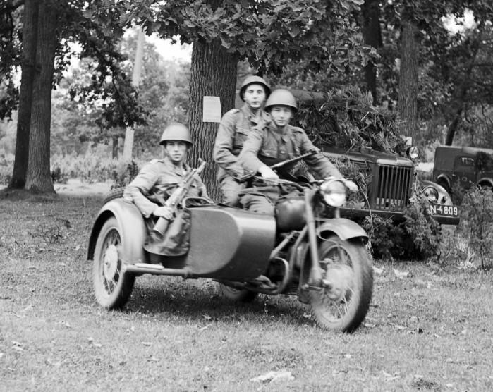 Motocykl K 750 w akcji