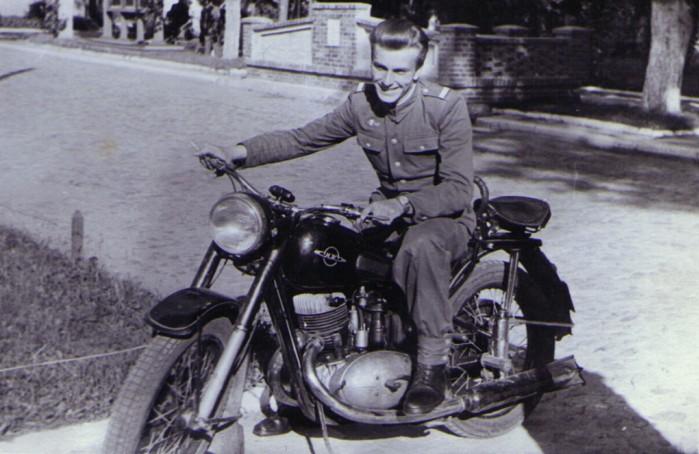 Motocykl Iz 49 w Ludowym Wojsku Polskim Lata 50
