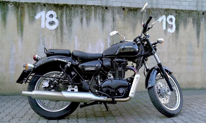 benelli imperiale 400 test motocykla