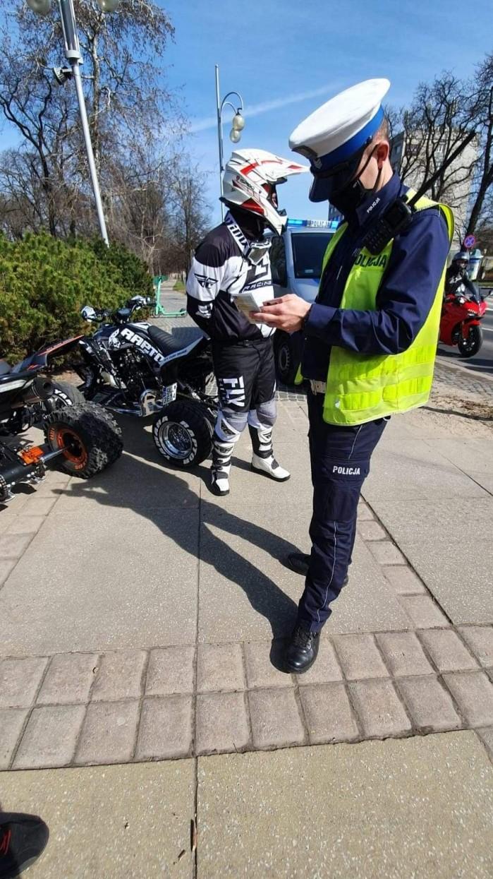 policja otwarcie sezonu czestochowa 2021