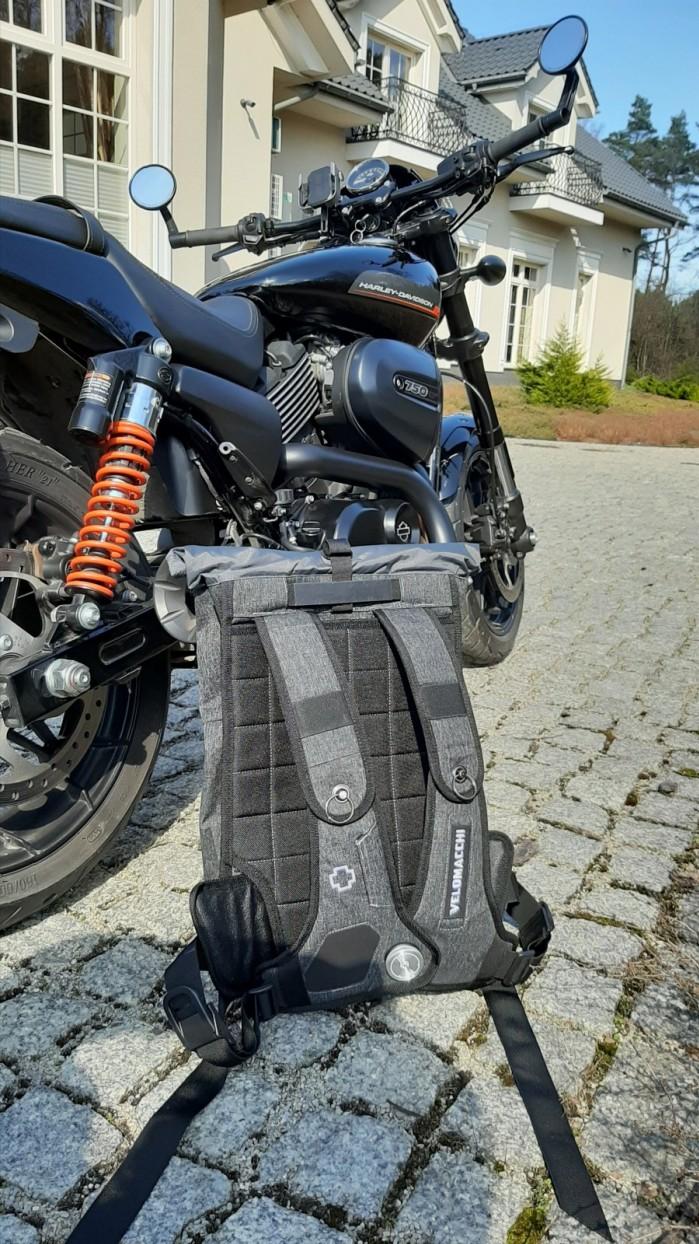 02 Velomacchi Speedway Backpack 28L plecak motocyklowy