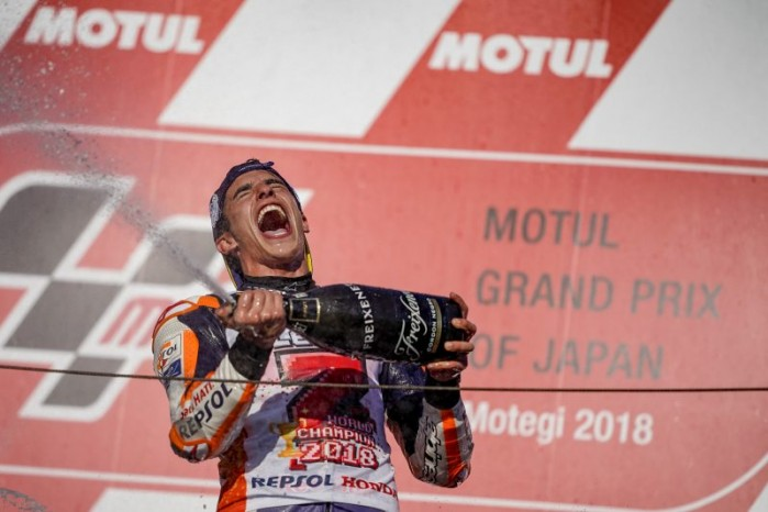 marc marquez 2018 world champion