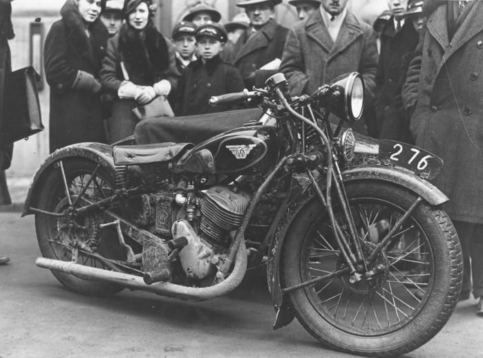 Motocykl Sok l 600