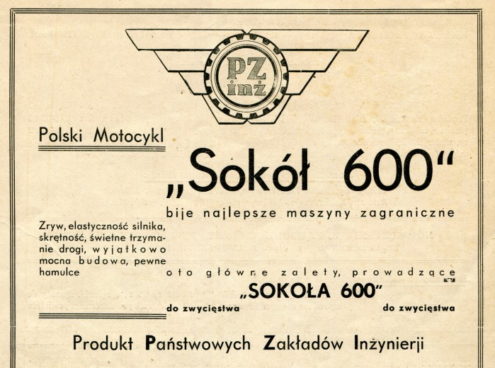 sokol 600 etykieta