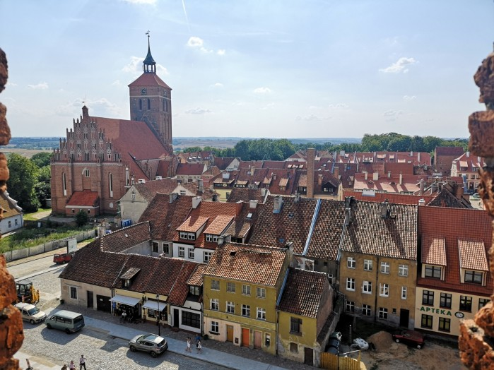 Widok z wiezy zamku Raszel
