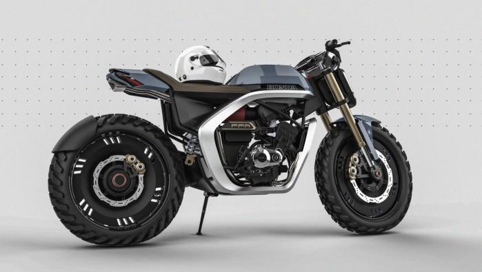 Leo Porfirio Honda projekt render 2