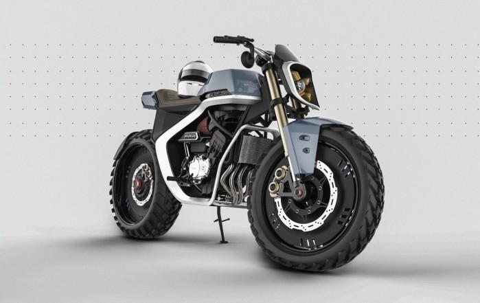 Leo Porfirio Honda projekt render 3