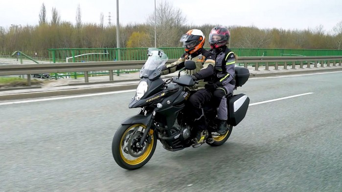 04 Suzuki DL 650 XT Mariusz Kaja