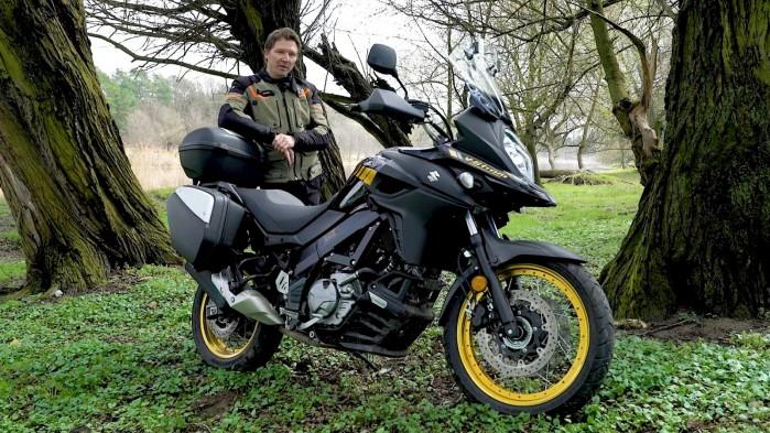 13 Suzuki DL 650 XT Mariusz Lowicki