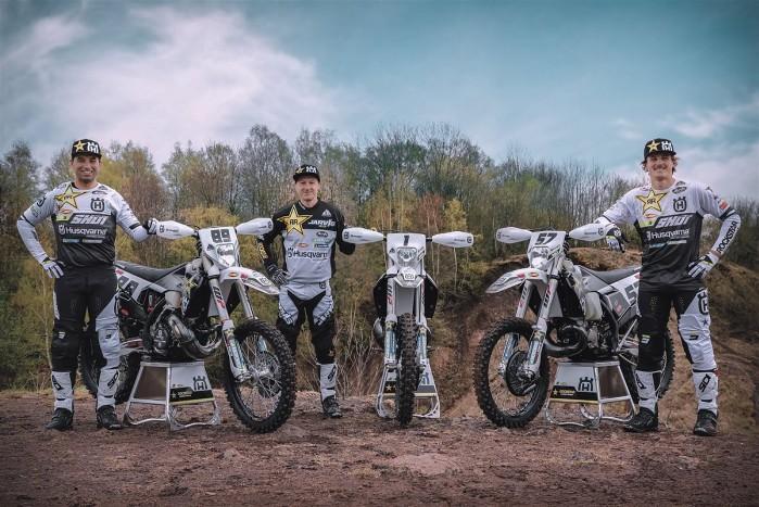 Rockstar Energy Husqvarna Factory Racing 2021 Enduro Team Shoot 1