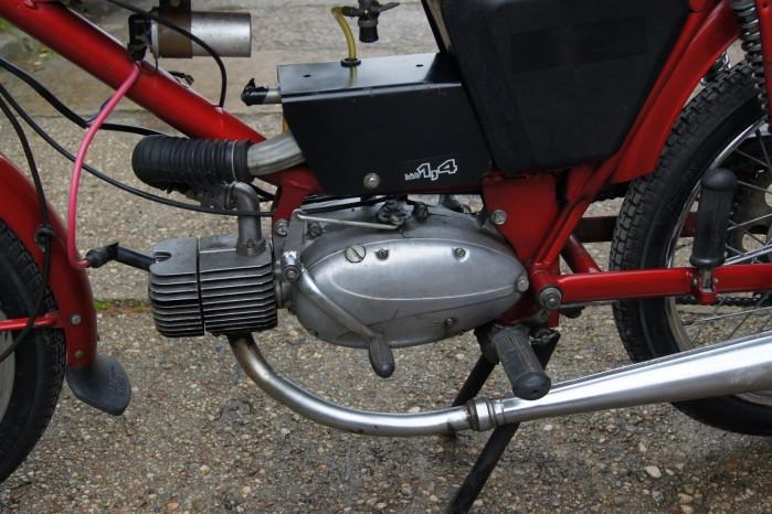 Silnik Jawy 50 w ramie Rometa Ogara