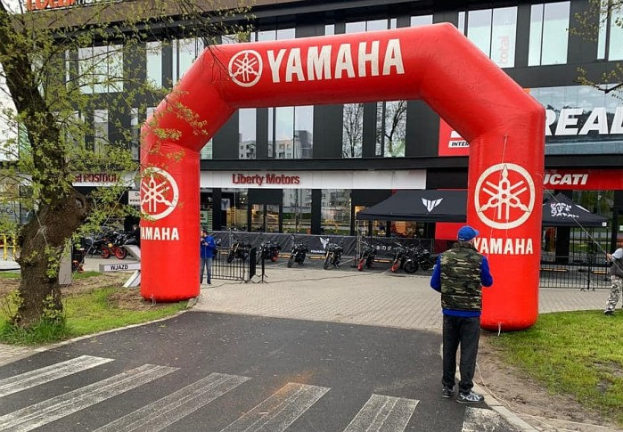 Yamaha MT Tour 2021 Yamaha POLand Position Piaseczno