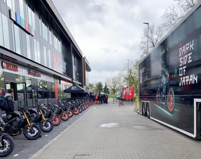 Yamaha POLand Position Piaseczno Yamaha MT Tour 2021