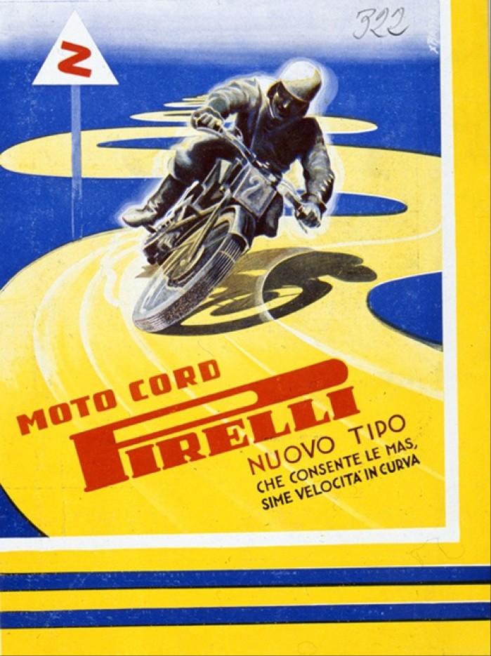 Pirelli grafika historyczna