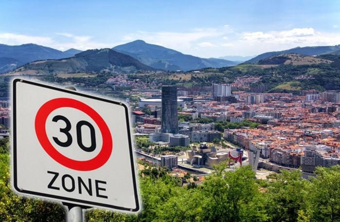 ograniczenie do 30 km na godzine hiszpania 1