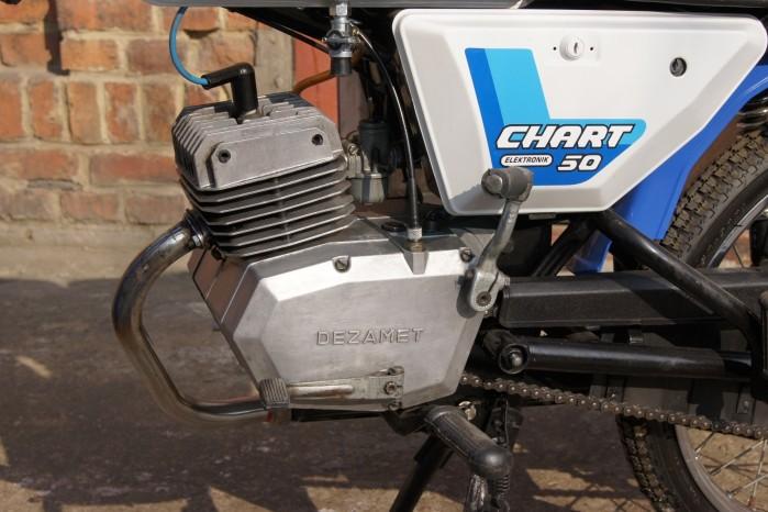 Silnik motoroweru Romet 210 Chart Elektronik