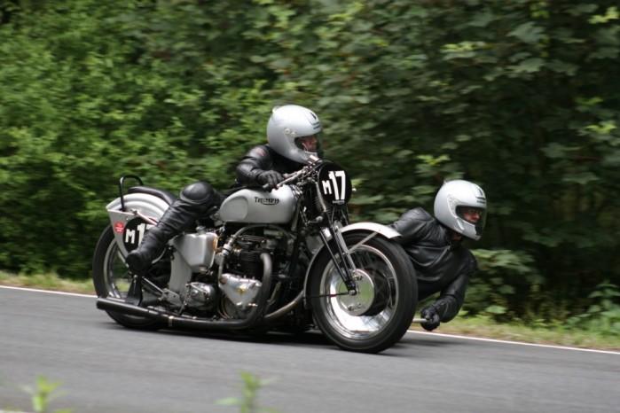 Czeskie TT Triumph wyscig