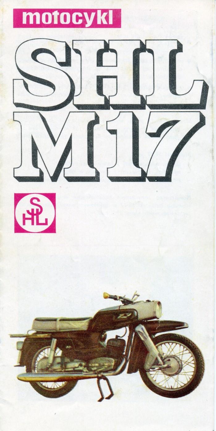 SHL M17 Gazela ulotka
